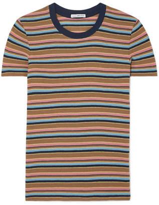 James Perse Vintage Boy Striped Cotton-blend Jersey T-shirt