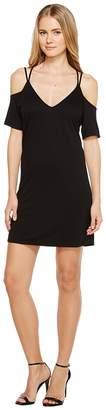 Lanston Cold Shoulder X Strap Dress Women's Dress