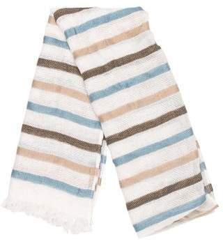 Tod's Stripe Knit Scarf