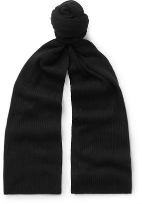 Theory Ribbed Cashmere Scarf