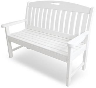 Polywood Nautical Bench - White