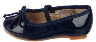 Ralph Lauren Girls' Patent Leather Ballet Flats w/ Tags