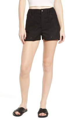 LIRA Ariana Linen & Cotton Shorts