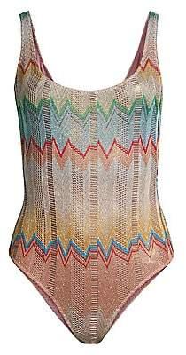 Missoni Mare Women's Zigzag One-Piece Swimsuit