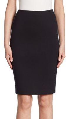 Armani Collezioni Milano Jersey Pencil Skirt