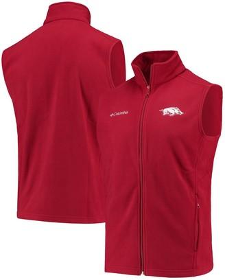Columbia Unbranded Men's Crimson Arkansas Razorbacks Flanker II Full-Zip Vest
