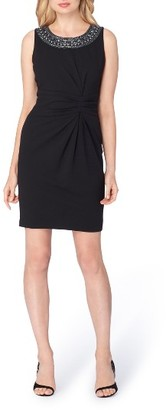 Women's Tahari Embellished Sheath Dress $128 thestylecure.com