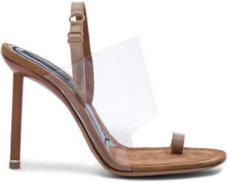 Alexander Wang PVC Kaia Heels