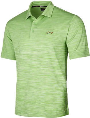 Greg Norman Attack Life by Men's 5 Iron Space-Dye Performance Golf Polo, Created for Macy's