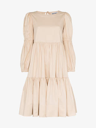 Milla Molly Goddard long sleeve cotton dress