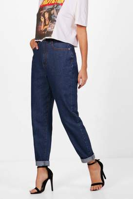 boohoo Authentic Rigid Slim Fit Mom Jeans