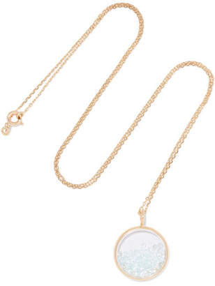 Aurelie Bidermann Baby Chivor 18-karat Gold Topaz Necklace