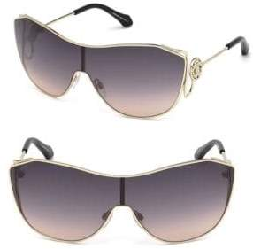 Roberto Cavalli Monogram Crest Sheild Sunglasses