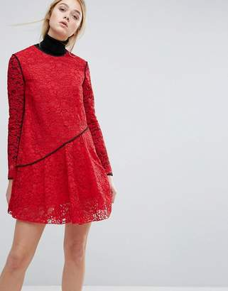 Sportmax CODE Code Bosforo Lace Dress