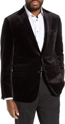 Hickey Freeman Classic B Fit Velvet Dinner Jacket
