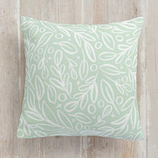 Branch Toss Square Pillow