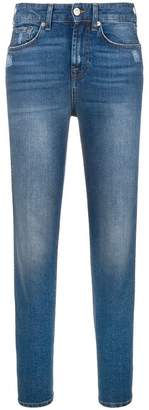 7 For All Mankind slim-fit straight jeans