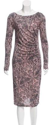 LK Bennett Ruched Long Sleeve Dress w/ Tags