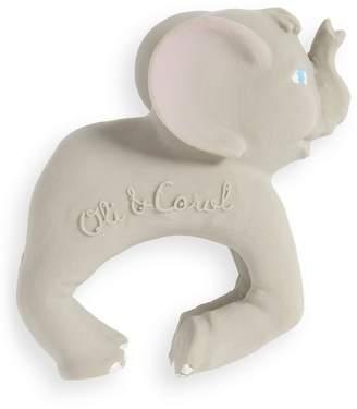 Oli & Carol Nelly the Elephant Rubber Teething Bracelet