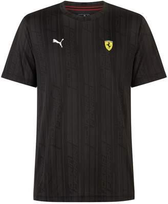 Puma Ferrari Jacquard T-Shirt