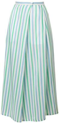 Thierry Colson striped skirt