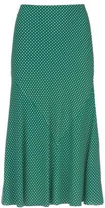 2ce16c218b Mint Velvet Green Spotted Midi Skirt