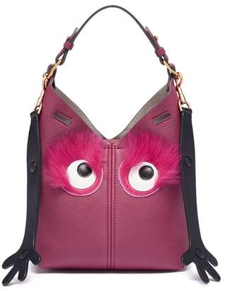 Anya Hindmarch 'Mini Build A Bag Creature' in leather