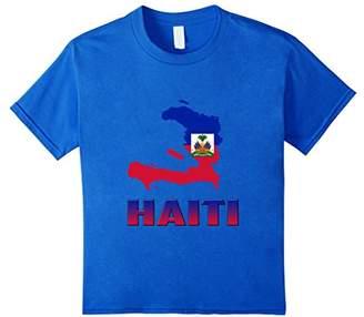 Haitian Empire Country Map T-shirt
