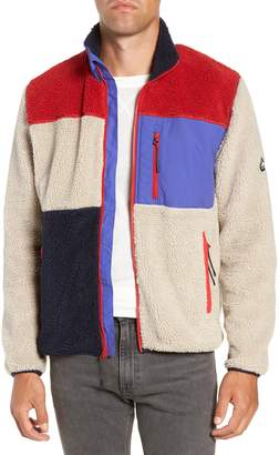 Penfield Mattawa Colorblock Fleece Zip Jacket