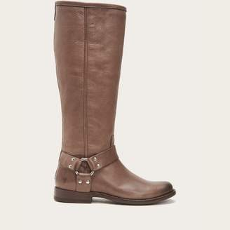 The Frye Company Phillip Harness Tall Wide Calf