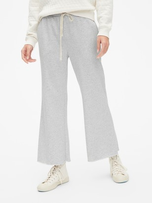 Gap Crop Flare Lounge Pants in French Terry