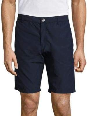 Vilebrequin Straight Fit Solid Bermuda Shorts