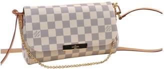 Louis Vuitton Favorite White Cloth Handbags