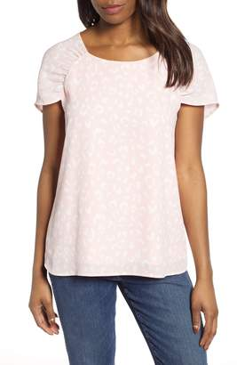 Gibson x International Women's Day Erin Ruched Sleeve Blouse