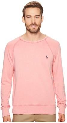 Polo Ralph Lauren Spa Terry Long Sleeve Knit Sweatshirt Men's Clothing