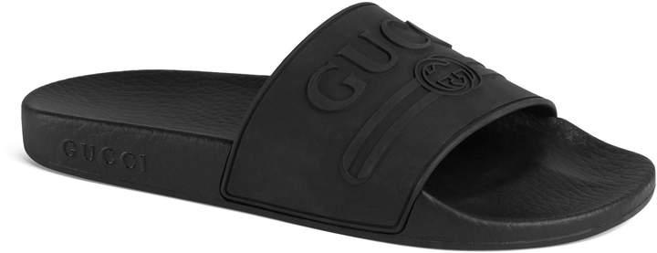 dc7273d56bf Nordstrom. Gucci Pursuit Logo Slide Sandal