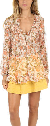 Zimmermann Radiate Frill Blouse