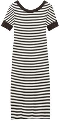 La Redoute COLLECTIONS Striped Midi T-Shirt Dress