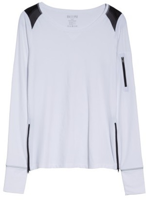 Women's Boomboom Athletica Zip Tee $130 thestylecure.com