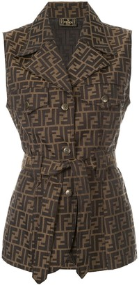 Fendi Pre-Owned sleeveless top