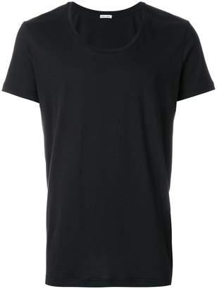 Tomas Maier scoop neck t-shirt
