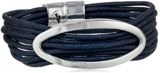 Kenneth Cole New York Oceans Oval and Cord Multi-Row Bracelet