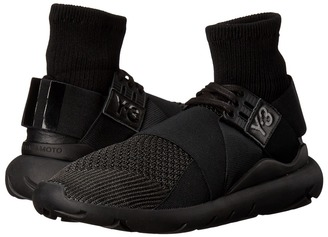 adidas Y-3 by Yohji Yamamoto - Qasa Elle Lace Knit Women's Lace up casual Shoes $400 thestylecure.com