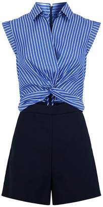 Sandro Twist Front Playsuit