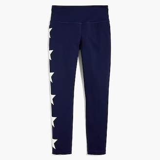 J.Crew New Balance® for performance seamless cropped leggings in stars