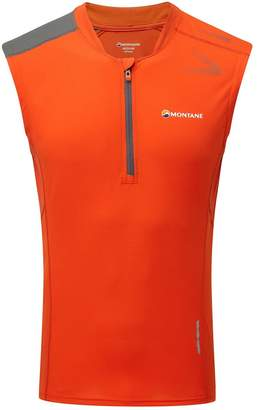 Montane Fang Zip Tank - Men's
