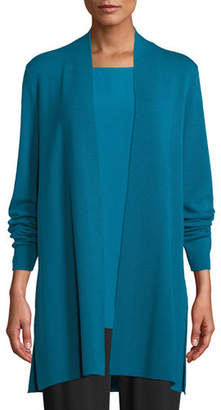 Eileen Fisher Ultrafine Merino Straight Long Cardigan