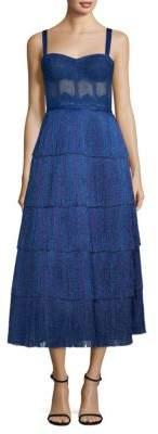 Missoni Fringe Bustier Gown