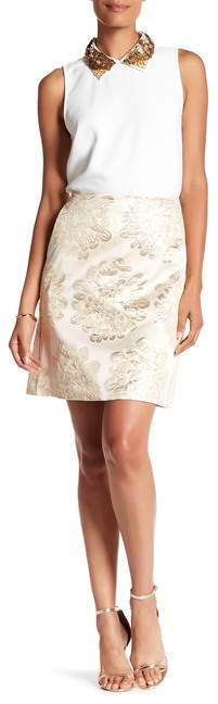 Trina Turk Flores Embroidered Skirt