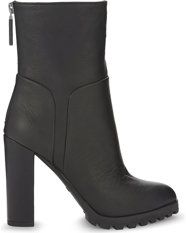 Aldo Fresa leather ankle boots